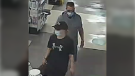 Police say the pair – a man and a woman -- entered the store on Sackville Drive just before 9 p.m. and left the business without paying for over $5,000 worth of merchandise.  (COURTESY HALIFAX DISTRICT RCMP)