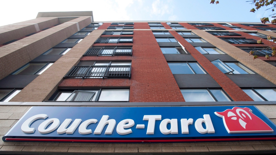 A Couche Tard convenience store is shown in Montreal, Friday, October 5, 2012. Alimentation Couche-Tard says consumers have adjusted their shopping habits during the COVID-19 lockdowns by purchasing larger-sized packages and stocking up on beer, wine and tobacco products. THE CANADIAN PRESS/Graham Hughes.