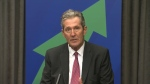 Premier Brian Pallister provides the fiscal update for Manitoba on Tuesday, June 30, 2020.