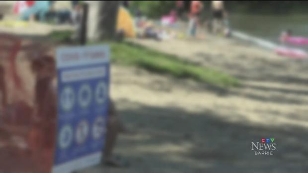 Girls sexually assaulted on Innisfil beach