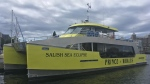 The vessel Salish Sea Eclipse is big enough to have groups of people on board with physical distancing protocols in place. (CTV News)