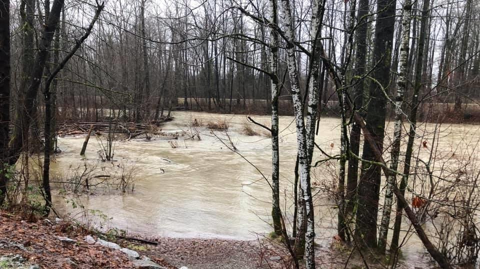 High streamflow advisory PoCO
