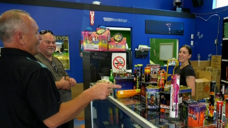 Fireworks business booming
