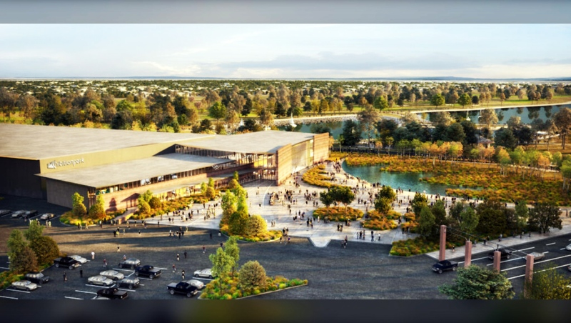 The province announced $27.8 million to expand and renovate Exhibition Park in Lethbridge Tuesday.
