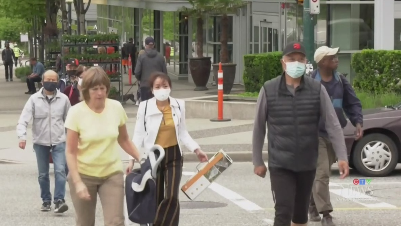 Most British Columbians support mandatory masks
