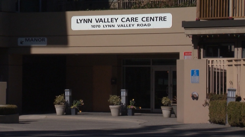 Lynn Valley Care Centre in North Vancouver is seen in this file photo.