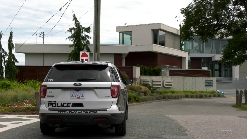 Delta police chief's home