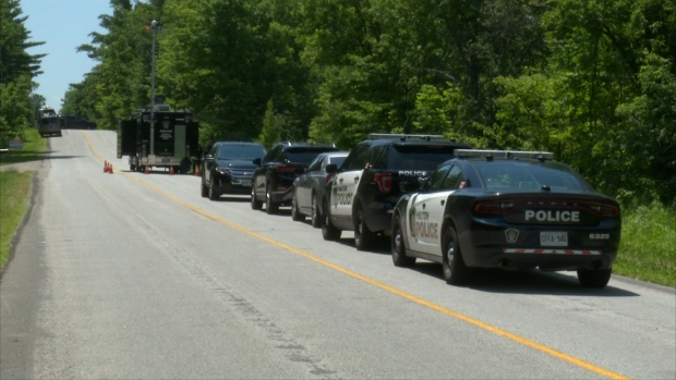 Halton police investigating after a body was found in Milton on June 30.