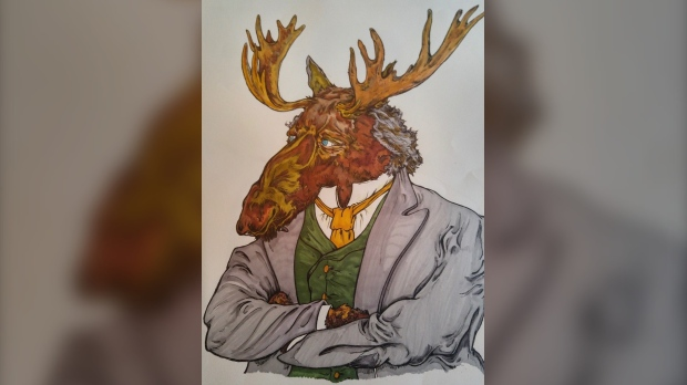 Portraits of prime ministers as Animals: An Ottawa Artist and Pet Industry worker creates a 'Countdown to Canada Day'