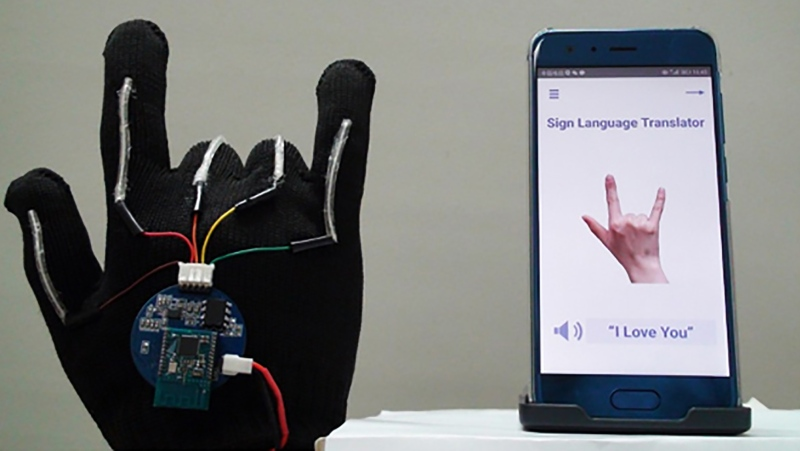 A glove that translates sign language into speech in real time has been developed by scientists -- potentially allowing deaf people to communicate directly with anyone, without the need for a translator. (Via CNN/UCLA)