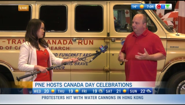 PNE hosts Canada Day parade