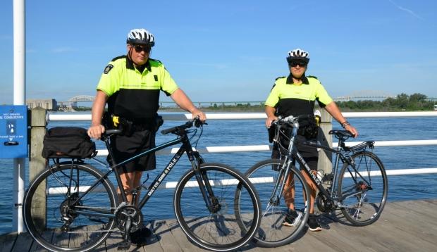 Sault police begin downtown bicycle patrols