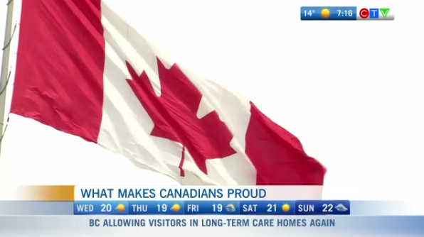 What makes Canadians proud