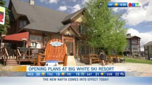 Big White Ski opening