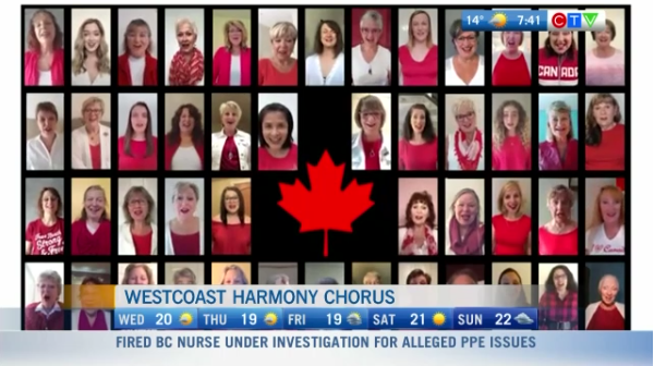Community Connection, Westcoast harmony Sing