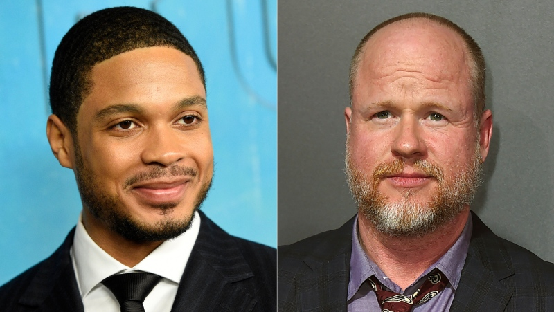"""In this combination photo, actor Ray Fisher arrives at the season three premiere of """"True Detective"""" in Los Angeles on Jan. 10, 2019, left, and Joss Whedon arrives at the premiere of """"Bad Times at the El Royale"""" in Los Angeles on Sept. 22, 2018. Fisher, who played Cyborg in the DC Comics film, """"Justice League"""", directed by Whedon, tweeted Wednesday that Whedon's treatment of the cast and crew was """"unprofessional and completely unacceptable."""" Whedon has not responded to Fisher on social media, and emails seeking comment were not immediately returned. (Photo by Jordan Strauss/Invision/AP)"""