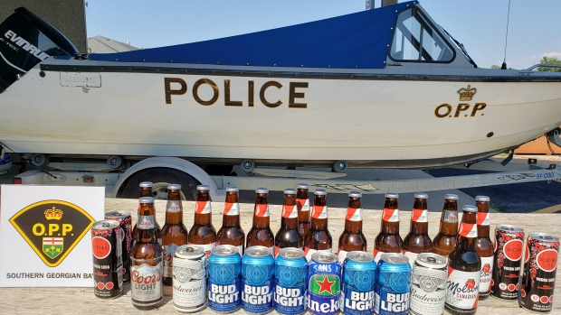 OPP reportedly remove impaired boater from Midland Bay
