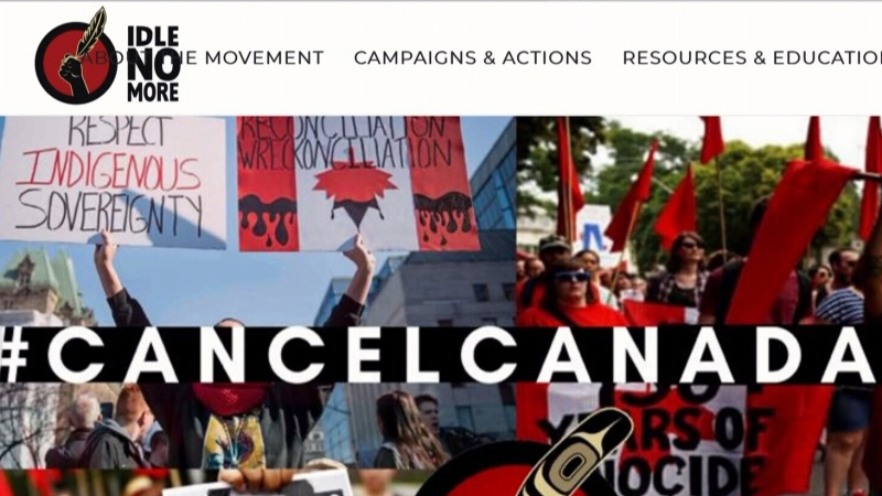 A movement to cancel Canada Day