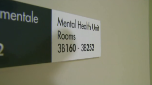 """Mental illness is not a crime,"" says Canadian Mental Health Association New Brunswick executive director, Christa Baldwin. ""Mental wellness checks must be a healthcare response, not a law enforcement response."""