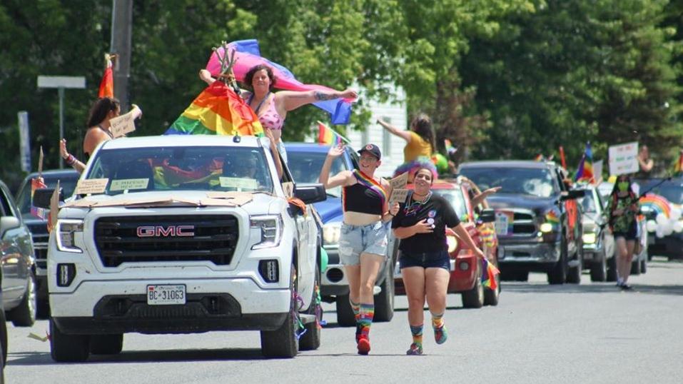 Pride parade Emo