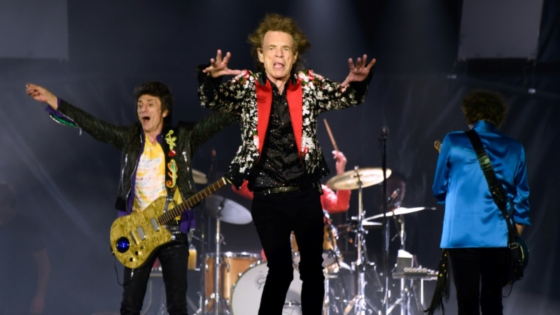 The Rolling Stones have joined some 1,500 performers including Ed Sheeran, Paul McCartney and Eric Clapton to urge the British government to save the country's live music industry from collapsing because of the coronavirus. (AFP)