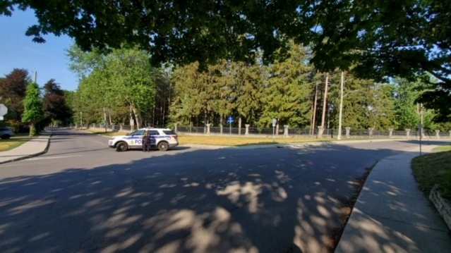 The RCMP is conducting an investigation at Rideau Hall. (Ryan Lee/CTV Morning Live)