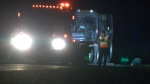 A man in his 30s was arrested after three children under 5 years old were killed in a tractor accident in a small town south of Montreal.