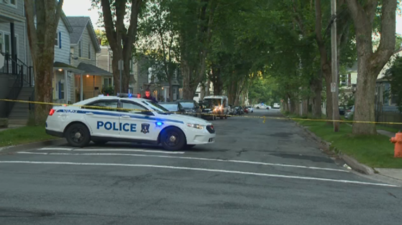 Police say three people were injured, with two taken to hospital with life-threatening injuries, after a shooting in Halifax late Wednesday.
