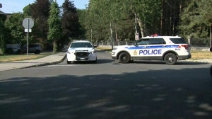 "The RCMP says the situation at Rideau Hall has been resolved ""safely"" on July 2. (Ryan Lee/CTV News Ottawa)"