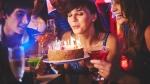 birthday cake, birthday candles