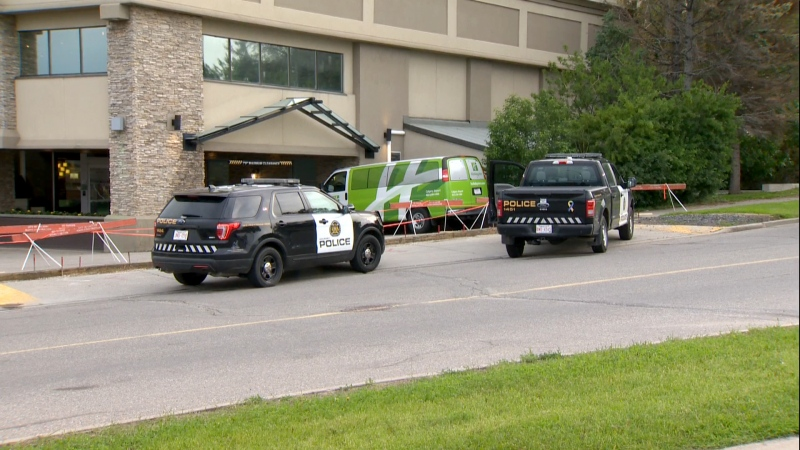 Holiday Inn Calgary shooting