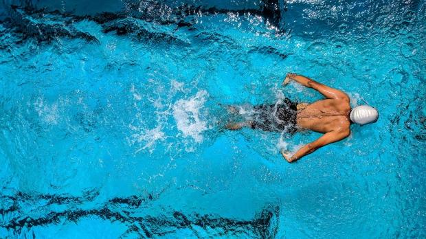 A person seen swimming in a pool in this generic file photo. (Guduru Ajay bhargav / Pexels)