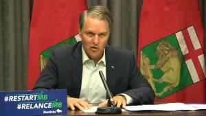 Health Minister Cameron Friesen