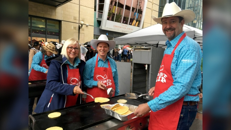 The Calgary Stampede has added a second drive-thru Stampede pancake breakfast in 2020 (file)