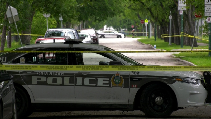 Winnipeg police continue to investigate a homicide that occurred in the 400 block of Flora Avenue on July 1.