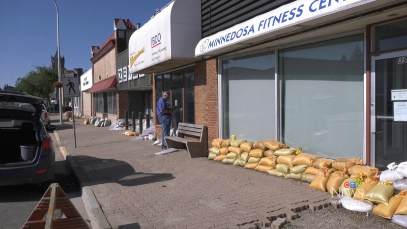 Flooding hits Minnedosa