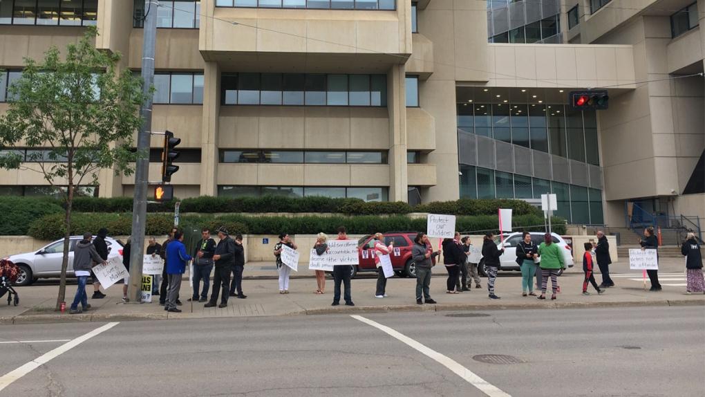 Stene protest