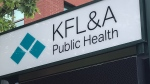 Kingston, Frontenac, Lennox & Addington Public Health. (Kimberley Johnson / CTV News Ottawa)