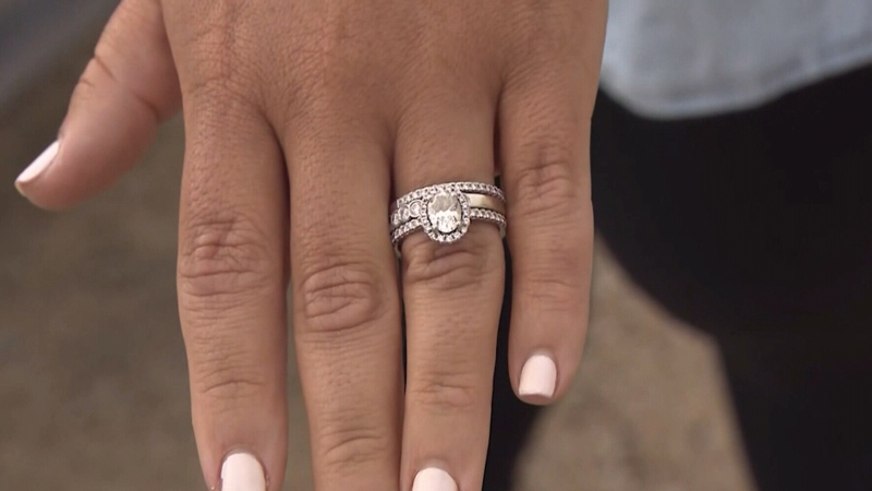 Treasure hunters reunite woman with lost ring
