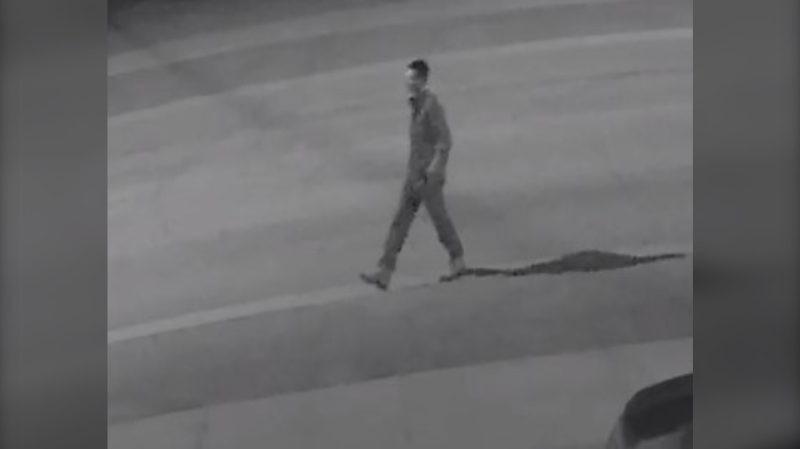 The North Bay Police Service is looking for a man they say was looking into the windows of multiples residences in the 600 block area of Worthington Street East in the late night hours of June 30. (North Bay Police)