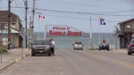 Welcome sign for Sauble Beach, as it will reopen once again on Friday, July 3, 2020. (Scott Miller / CTV News)