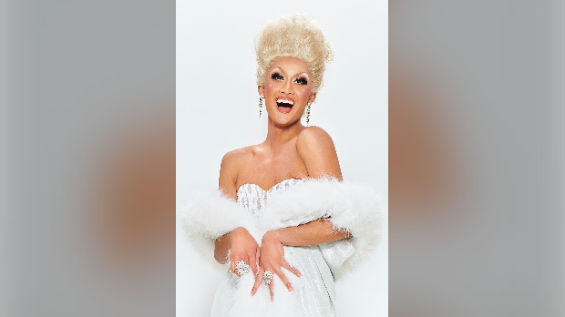 Kyne Santos is a University of Waterloo student competing in Canada's Drag Race (University of Waterloo)
