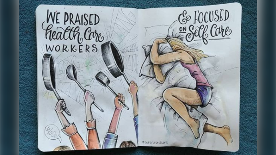 The Great Pause sketchbook