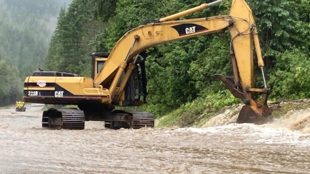 Flooding closes Highway 1