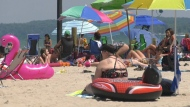 Overcrowding concerns at Wasaga Beach
