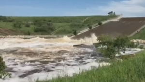 Concerns about dam blowing out