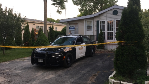 OPP are investigating a man's death in Wellington County (Terry Kelly / CTV News Kitchener)