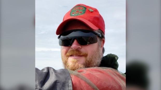 Corey Hurren is seen in this undated photo.