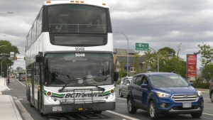 BC Transit says the project is building on the positive momentum of the new bus lanes along Douglas Street and Highway 1.