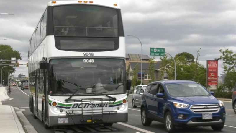 A BC Transit bus is seen in this file photo.